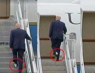 Uçağa tuvalet kağıdıyla binen Trump karizmayı fena çizdirdi!