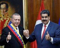 Maduro'dan Başkan Erdoğan'a teşekkür