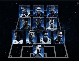 FIFA Yılın En İyilerini belirledi! İşte yılın futbolcusu...