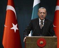 Erdoğan: Suriye'de teröristler için zafer olmayacak!