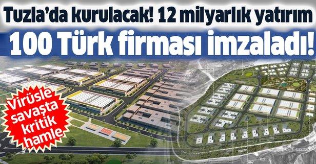 Tuzla'da kuruluyor! 12 milyar liralık dev yatırım