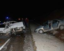 Burdur'da zincirleme kaza! Ölü ve yaralılar var
