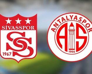 Sivaspor - Antalyaspor | CANLI YAYIN