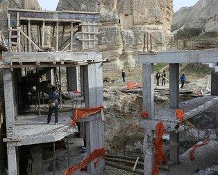 Nevşehir Valisi açıkladı: Yıkım bugün başlıyor