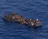 Libya açıklarında yakalandılar! Tam 185 kişi...