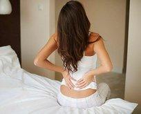 Sırtüstü yatmak bel ağrısı nedeni