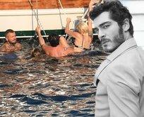 Didem Soydan tekne tatilinde zor anlar yaşadı!