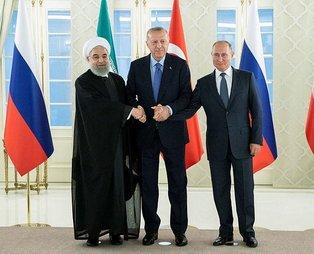 Ankara'daki üçlü Suriye zirvesinden mutabakat çıktı!