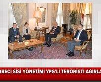 YPG'li hain Mısır'da ağırlandı