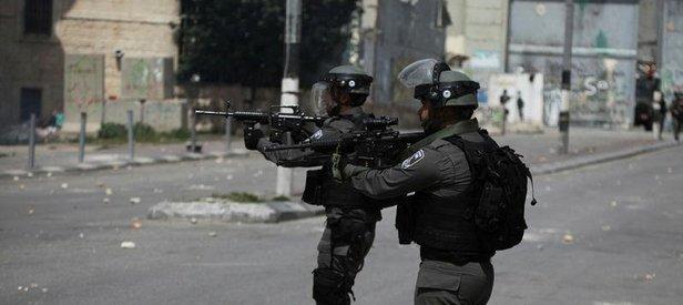 İsrail'den Batı Şeria'daki gösteriye müdahale