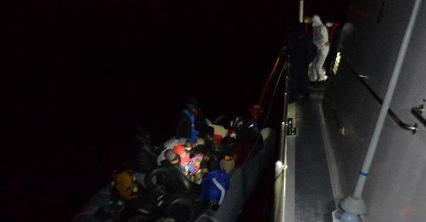 Kırklareli'nde 48 sığınmacı yakalandı