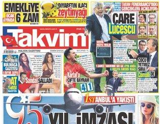 Günün öne çıkan gazete manşetleri | 30 Ekim 2018 Salı