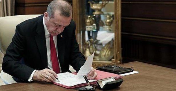 Başkan Erdoğandan 15 üniversiteye rektör ataması