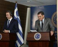 Libya Başbakanı Dibeybe Miçotakis'in suratına söyledi
