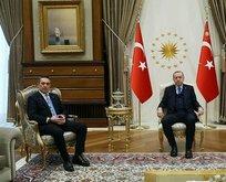 Erdoğan Koç'u kabul etti