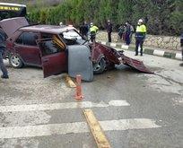 Sarhoş sürücüden feci kaza: 5 yaralı