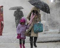 Meteorolojiden son dakika kar yağışı uyarısı