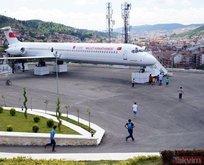 Dev yolcu uçağı Millet Kıraathanesi oldu