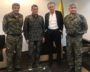 Mossad ajanı YPG'nin sözde lideri Ferhat Abdi Şahin ile görüştü!