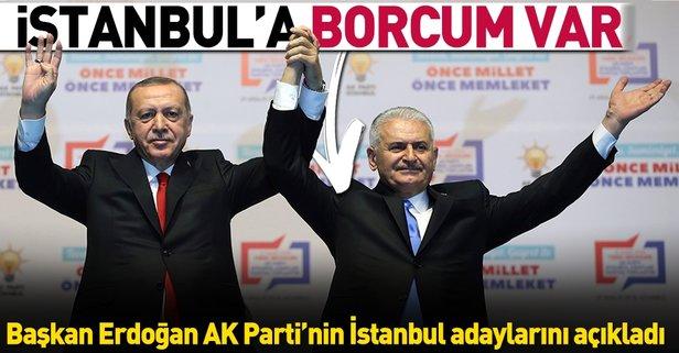 İstanbul'a borcum var