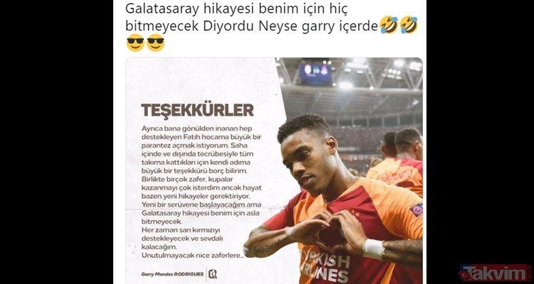 Galatasaray taraftarı Fenerbahçe'nin Garry Rodrigues transferi sonrası çıldırdı