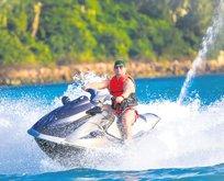 'Jet-ski'de şüpheli ölüm