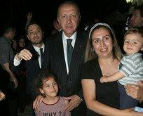 Başkan, canlı yayın sonrası vatandaşlarla bir araya geldi