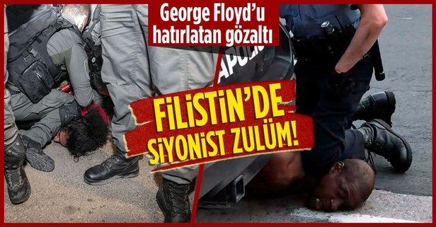 George Floyd olayını hatırlatan gözaltı!