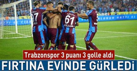 Trabzonspor 3 puanı 3 golle aldı! I Trabzonspor 3-1 Sivasspor (MAÇ SONUCU)