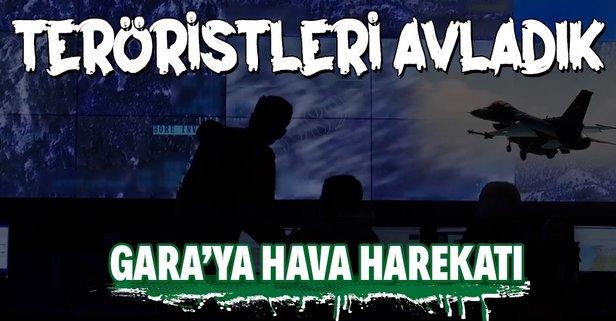 8 PKK'lı teröristi avladık