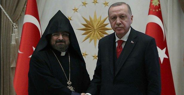 Türkiye Ermenileri Patriği'nden Başkan Erdoğan'a taziye mesajı