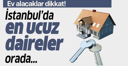 Faizler düştü konut satışları patladı! İşte İstanbul'da ilçe ilçe satılık ev fiyatları
