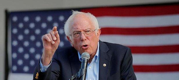 Demokrat başkan aday adaylarından Vermont Senatörü Bernie Sanders: Trump aptal ve tehlikeli