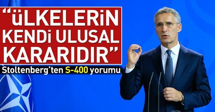 NATO Genel Sekreterinden Türkiye ve S-400 açıklaması