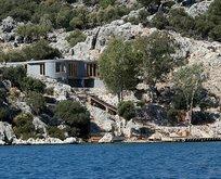İngilizlerden Antalya'da kaçak villa!