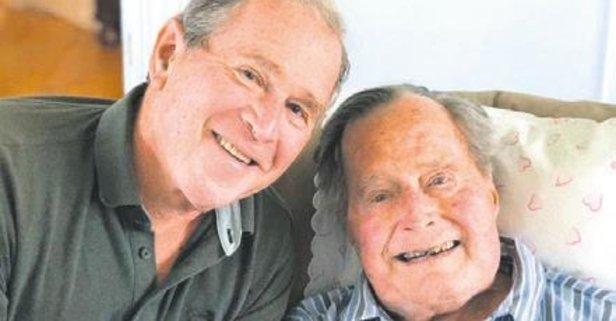 Bush ailesinin 94 mutluluğu