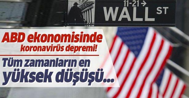 ABD ekonomisinde koronavirüs depremi