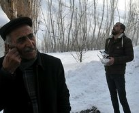 Köylüler, drone kullanarak cep telefonuyla görüşebiliyor