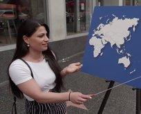 ABDlilerden haritada ülke göstermeleri istendi!