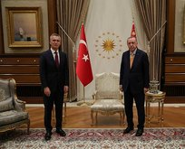 Başkan Erdoğan NATO'cuyla görüştü