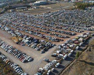 Binlerce araç çürümeye terk edildi! Burası Ankara