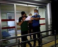 9. kattan sarkıttı! Polisler yakaladı