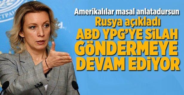 Rusya: ABD, YPGye silah göndermeye devam ediyor