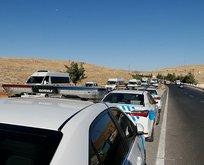 Şanlıurfa'da zincirleme trafik kazası: 14 yaralı