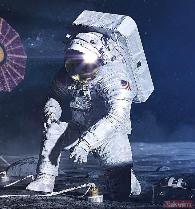 NASA ilk kez görücüye çıkardı! Artemis Görevi için...