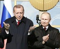 Başkan Erdoğan ve Putin temelini atacak