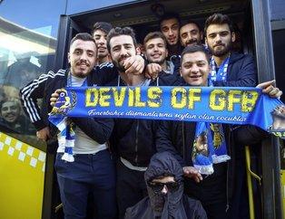 Fenerbahçe taraftarı Türk Telekom Stadına ulaştı
