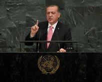 Erdoğan BM Zirvesi'nde dünyaya seslenecek