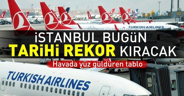 İstanbul bugün tarihi rekor kıracak