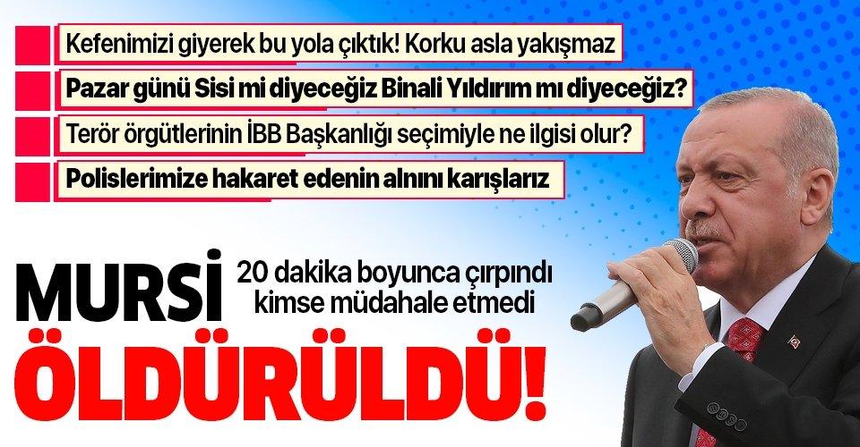 Son dakika haberi: Başkan Erdoğan'dan Sancaktepe'deki Toplu Açılış Töreni'nde önemli açıklamalar
